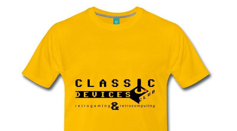 Magliette ed accessori Classic Devices Club
